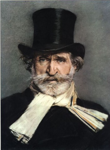 Giuseppe Verdi (Porträt von Giovanni Boldini, 1886)