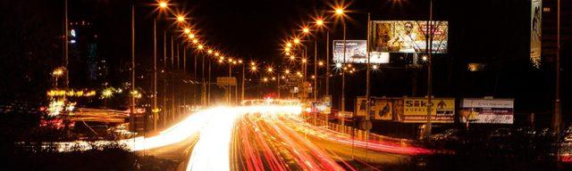 verejne osvetlenie nocna ulica foto BBonline.sk