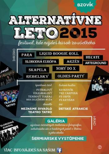 Alternativne Leto 2015