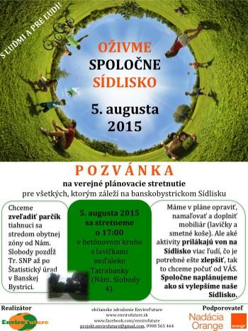 Pozvanka_Sidlisko