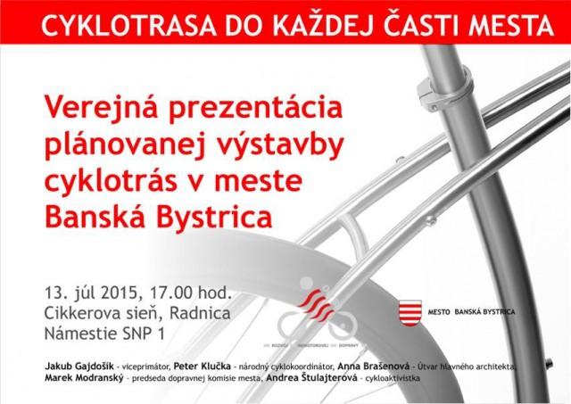 verejné prerokovanie cyklotrás