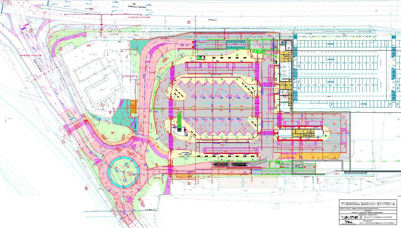 autobusova stanica terminal projekt