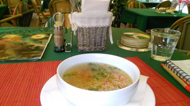 zlaty bazant polievka