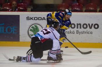 Hokej - HC 05 iClinic Banska Bystrica - SHK 37 Piestany - 15.09.2015 - Banska Bystrica