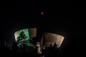Cerveny mesiac, red moon 2015 | BBonline.sk, ZVonline.sk