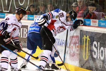Hokej - HC 05 iClinic Banska Bystrica vs. HK Poprad - 20.09.2015 - Banska Bystrica