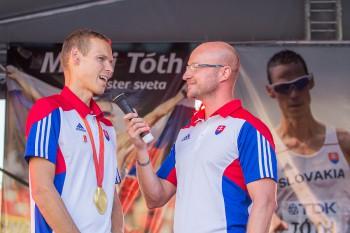 Matej Toth oslava majstrovskeho titulu Banska Bystrica 2015 | REGIONAL MEDIA, s.r.o.