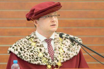 Rektor UMB Vladimír Hiadlovský.