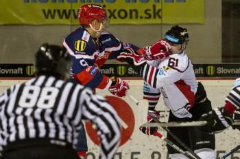 Hokej - HC 05 iClinic Banska Bystrica vs. HKM Zvolen - 04.10.2015 - Banska Bystrica