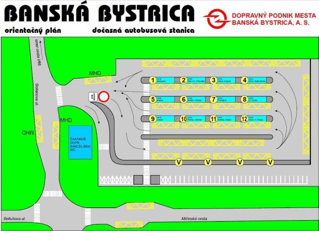 Docasna autobusova stanica Banska Bystrica 2015 | BBonline.sk, ZVonline.sk