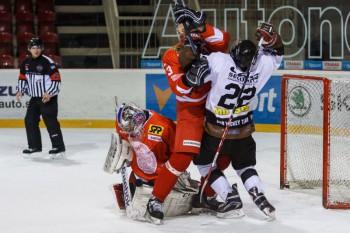 Hokej - UMB Banska Bystrica vs. UK Praha - 24.11.2015 - Banska Bystrica