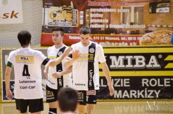 Futsal - MIBA Banska Bystrica vs. Spartak Trnava futsal - 18.12.2015 - Banska Bystrica