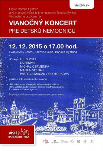 vianocny koncert pre nemocnicu