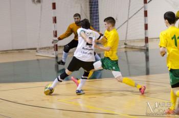 Futsal - MIBA Banska Bystrica vs. KSF DOXX Zilina - 12.02.2016 - Banská Bystrica