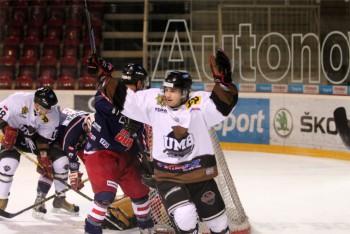 Hokej - EUHL - UMB Banska Bystrica vs. UHT Dukes Graz - 08.02.2016 - Banská Bystrica