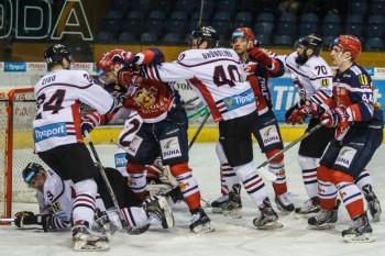 Hokej - Tipsport liga - HKM Zvolen vs. HC 05 iClinic banska Bystrica - 06.03.2016 - Zvolen