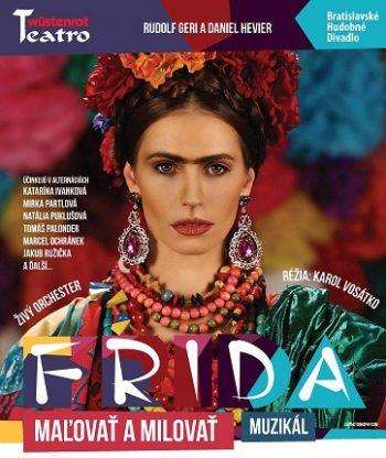 Frida - plagat bianco