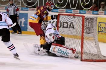 Hokej - Tipsport liga play off - HC 05 iClinic Banska Bystrica vs. Dukla Trencin - 14.03.2016 - Banska Bystrica
