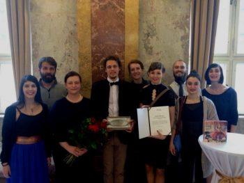 Kolektív Divadla Štúdio tanca, ocenenie MKSR