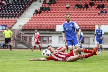 Futbal - DOXXbet liga - FK Dukla Banska Bystrica vs. FK Slovan Duslo Sala - 23.04.2016 - Banska Bystrica