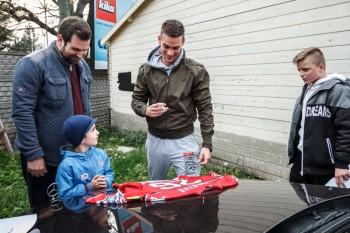 Hokej - autogramiada - HC 05 iClinic Banska Bystrica - 25.04.2016 - Banska Bystrica
