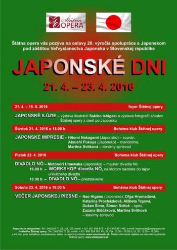 Japonské dni v opere