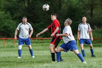Futbal - nizsie sutaze - Dubravica vs. Lubietova - 08.05.2016 - Banska Bystrica
