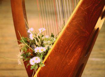 harfa hudba nastroj