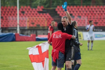 Futbal - rozlucka - Peter Boros - 05.06.2016 - Banska Bystrica