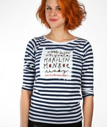 Kristína Farkašová vo vtipnom tričku Foto: archív