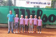Tenis - MS druzstiev v tenise - mladsie ziacky - TC BASELINE Banska Bystrica - 20.08.2016 - Piestany