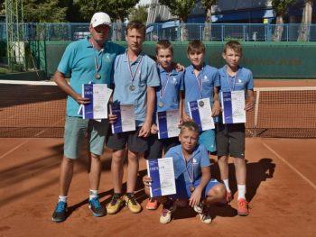 Tenis - TC Baseline Banska Bystrica - mladsi ziaci - 23.08.2016 - Banska Bystrica