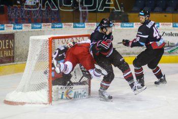 Hokej - Tipsport liga - HKM Zvolen vs. HC 05 iClinic Banska Bystrica - 30.09.2016 - Zvolen