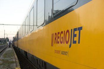 Regiojet, vlak, vlaky, zeleznica, Student Agency, prepoj Martin 2016   BBonline.sk, ZVonline.sk