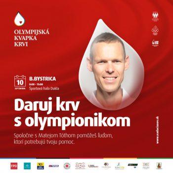 olympijská kvapka krvi