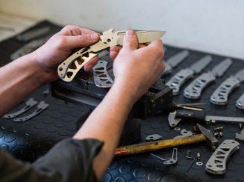 výroba noža