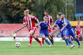 Futbal - II. liga skupina zapad - FK Dukla Banska Bystrica vs. FK Pohronie Ziar nad Hronom Dolna Zdana - 01.10.2016 - Banska Bystrica