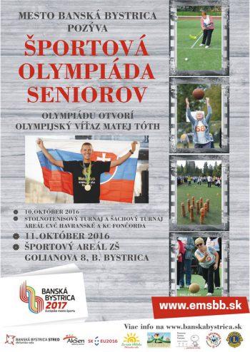 olympiáda seniroov