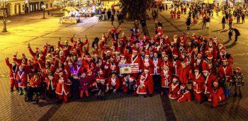 Mikulassky charitativny beh - Banska Bystrica - 03.12.2016