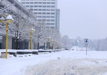 pocasie zima sneh