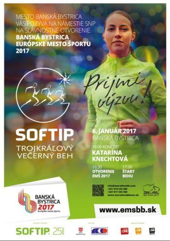 Trojkralovy vecerny beh 2017 - Marathon Banska Bystrica