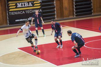 Futsal - 1. Slovenska liga vo futsale - MIBA Banska Bystrica vs. SK Across Pinerola Bratislava - 03.02.2017 - Banska Bystrica