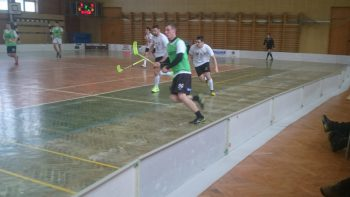 Florbal - II. liga muzov - FPS Banska Bystrica vs. CVC Ziar nad Hronom Piratos - 11.2.2017 - Banska Bystrica