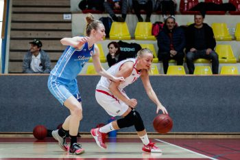 Basketbal - Basketbalova Extraliga zeny - BK SKP 08 Banska Bystrica vs. BK Slovan Bratislava - 12.2.2017 - Banska Bystrica