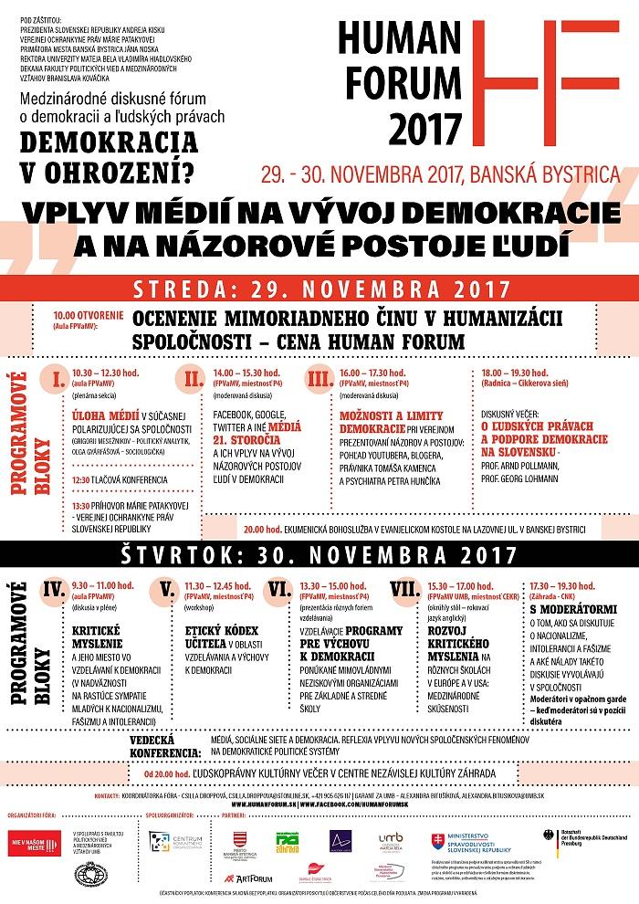 Fotogaléria - Medzinárodné diskusné fórum Human forum už po štvrtýkrát v  Banskej Bystrici  167cd265fff