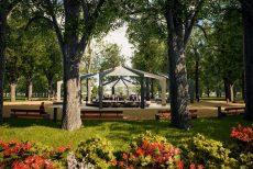 Mestský park v Banskej Bystrici